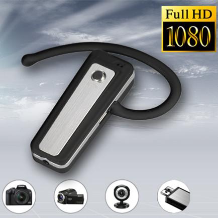 ワイヤレスイヤホン型スパイカメラ